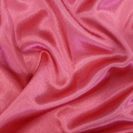 Ткань креп-сатин коралл (метр )