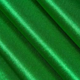 Ткань креп-сатин молодая трава (метр )