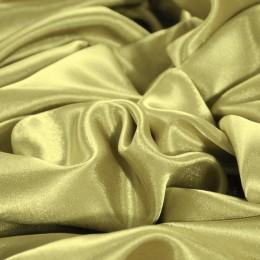 Ткань креп-сатин золотисто-бежевый (метр )