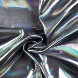 Ткань парча перламутр серебро (метр )
