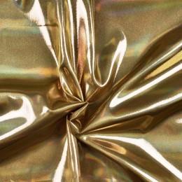 Ткань парча перламутр золото (метр )