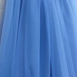 Ткань еврофатин голубой (метр )