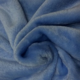 Ткань махра голубой (метр )
