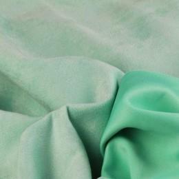 Ткань замша на дайвинге мята (метр )