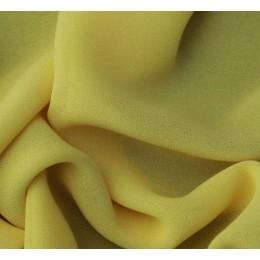 Ткань креп-шифон бледно желтый (метр )