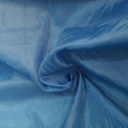 Ткань подкладочная нейлон голубая (метр )
