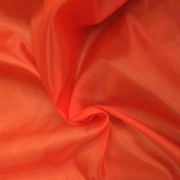 Ткань подкладочная нейлон темно-оранжевая (метр )