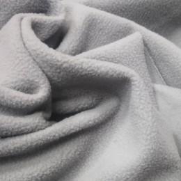 Ткань микрофлис светло серый (метр )