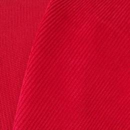 Ткань вельвет мелкий красный (метр )