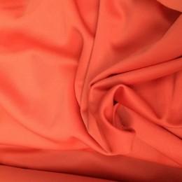 Ткань эластик с начесом оранж (метр )