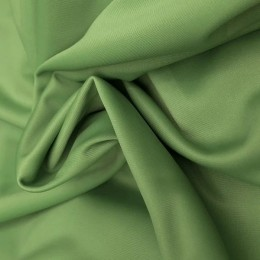 Ткань эластик с начесом салатовый (метр )