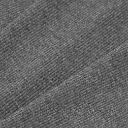 Ткань довяз рибана кашкорсе темно серый меналж (метр )