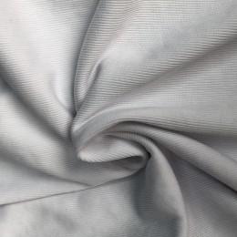 Ткань довяз рибана кашкорсе белый  (метр )