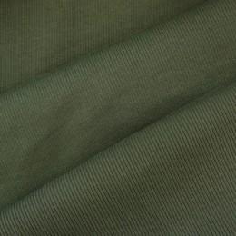 Ткань довяз рибана кашкорсе хаки (метр )