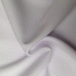 Ткань довяз рибана трикотаж белая (метр )