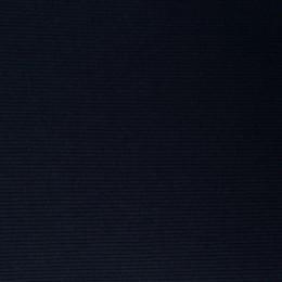 Ткань довяз рибана трикотаж темно синяя (метр )