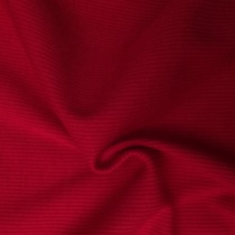 Ткань довяз рибана трикотаж красный (метр )