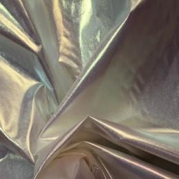 Ткань плащевка лаке металлик хамелеон (метр )