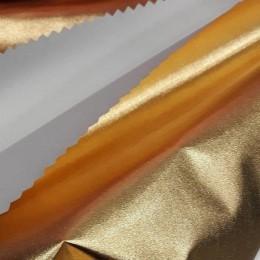 Ткань плащевка лаке металлик золото (метр )