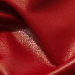 Ткань кожа стрейч красная (метр )