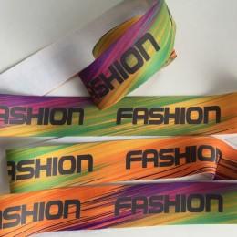 Резинка с логотипом Fashion 40мм полноцветная печать (метр )
