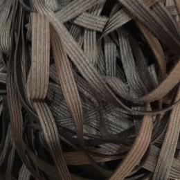 Резинка 6,5мм коричневая (40 метров)
