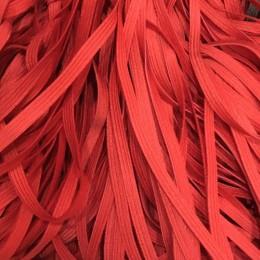 Резинка 6,5мм красная (40 метров)